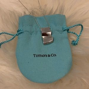 Brand New Tiffany & Co wave necklace. With dustbag